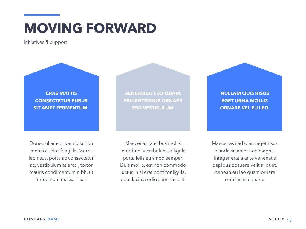 Business Review Keynote Template, Slide 11, 05141, Presentation Templates — PoweredTemplate.com