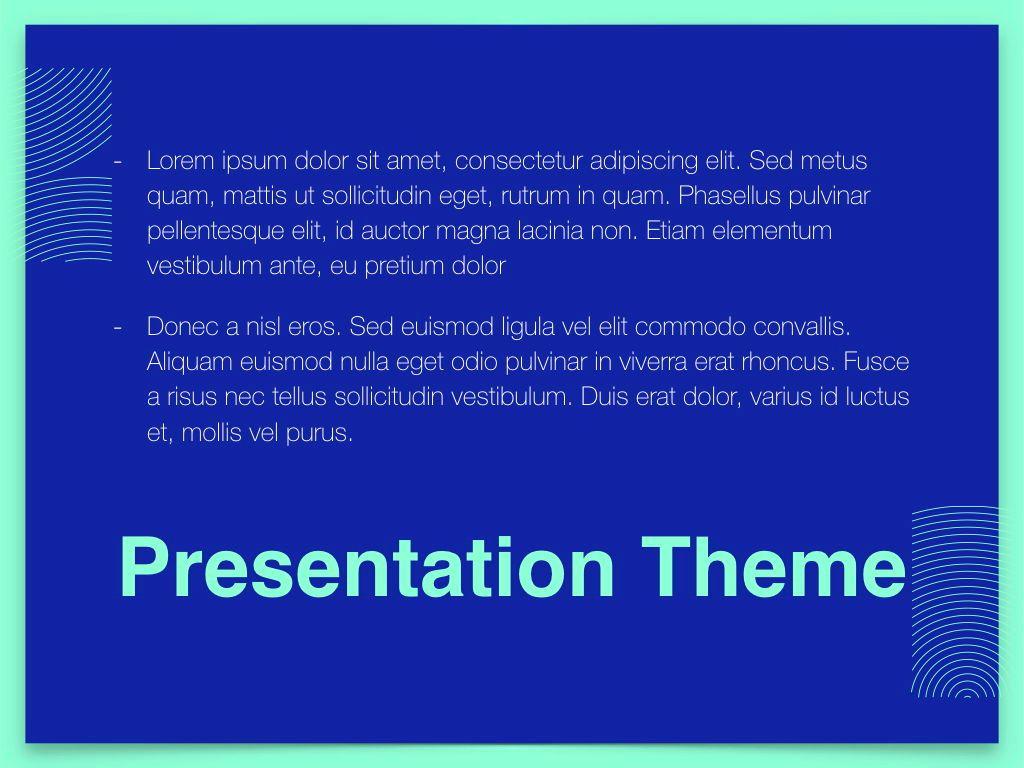 Duotones Keynote Theme, Slide 11, 05144, Presentation Templates — PoweredTemplate.com