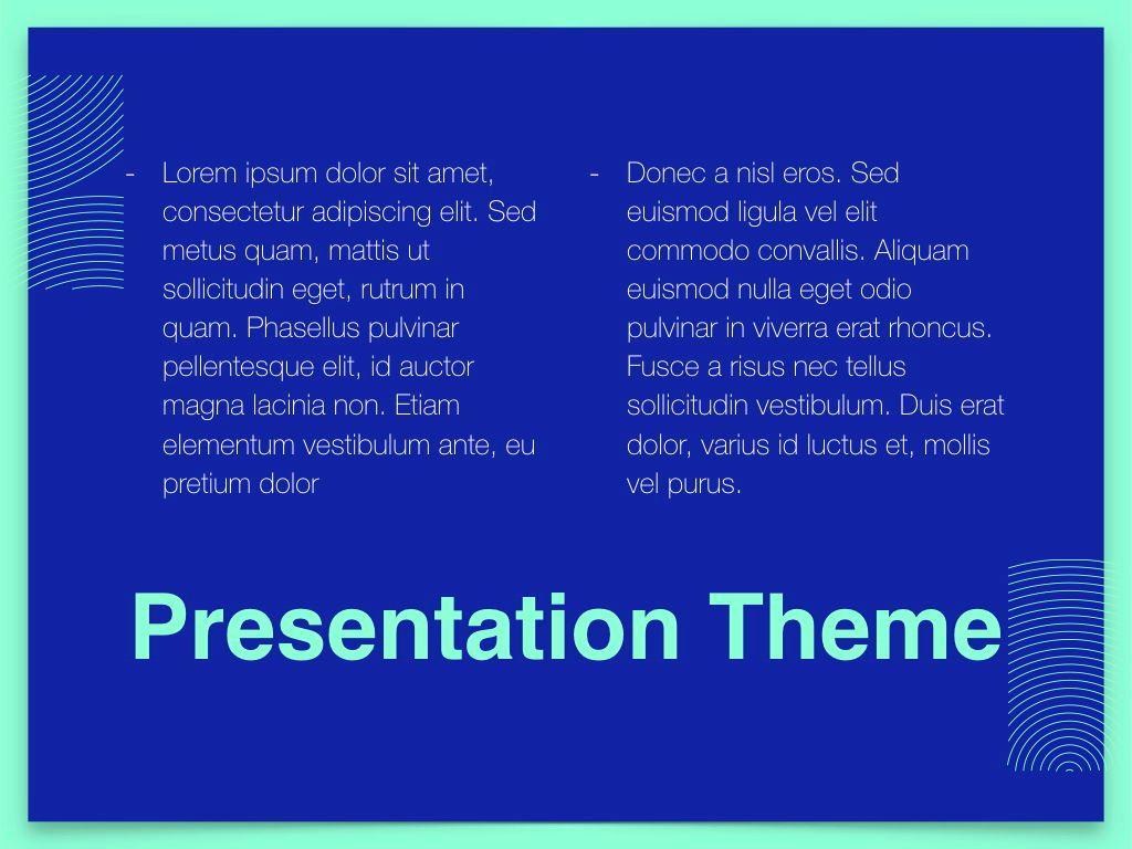 Duotones Keynote Theme, Slide 12, 05144, Presentation Templates — PoweredTemplate.com