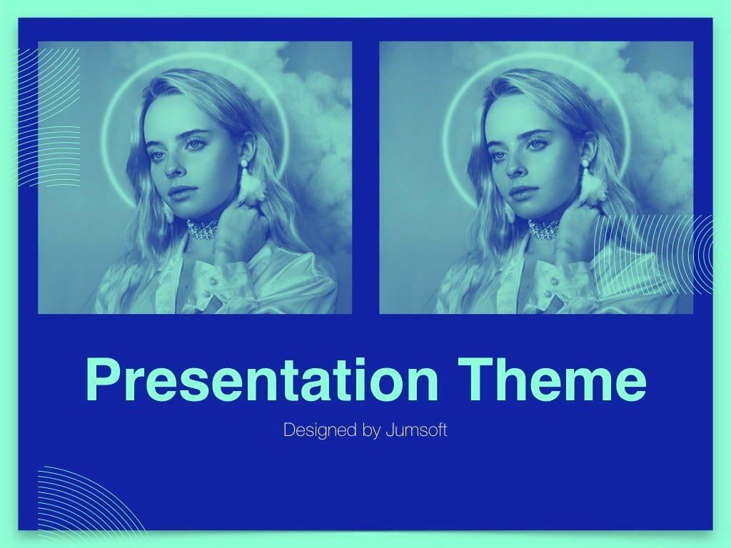 Duotones Keynote Theme, Slide 14, 05144, Presentation Templates — PoweredTemplate.com
