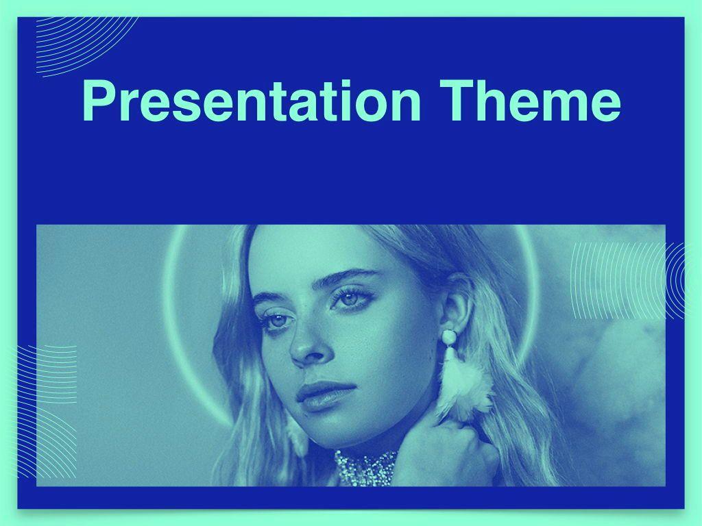 Duotones Keynote Theme, Slide 15, 05144, Presentation Templates — PoweredTemplate.com