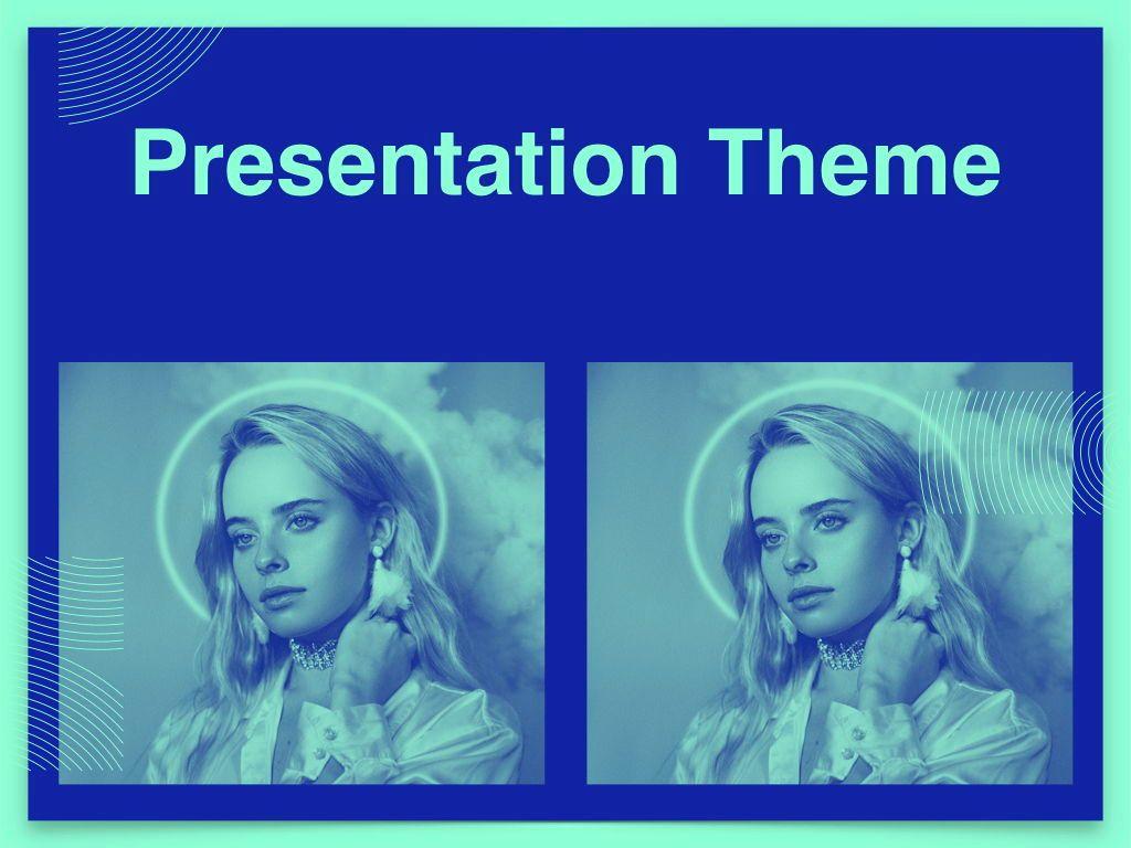Duotones Keynote Theme, Slide 16, 05144, Presentation Templates — PoweredTemplate.com
