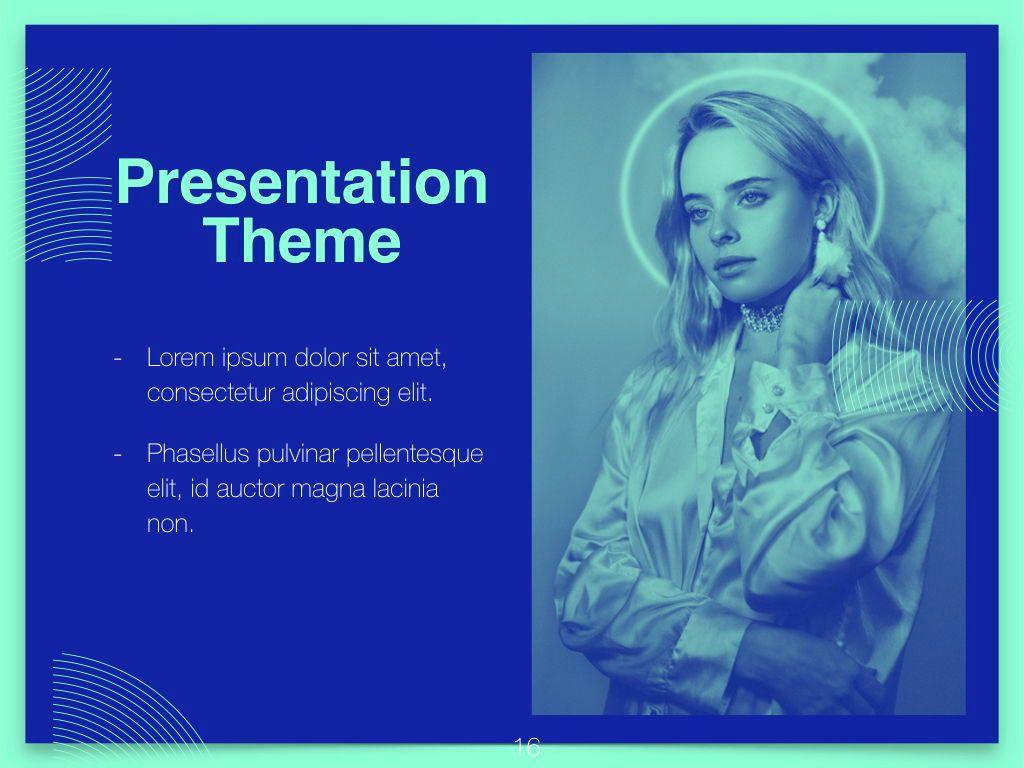 Duotones Keynote Theme, Slide 17, 05144, Presentation Templates — PoweredTemplate.com