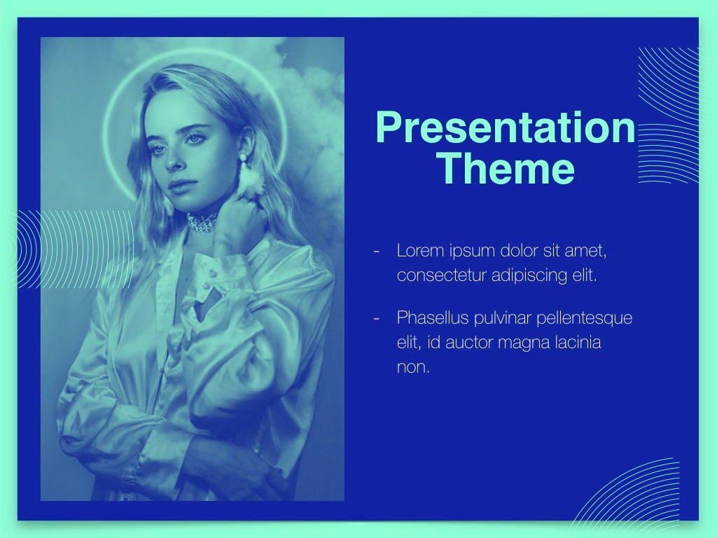 Duotones Keynote Theme, Slide 18, 05144, Presentation Templates — PoweredTemplate.com