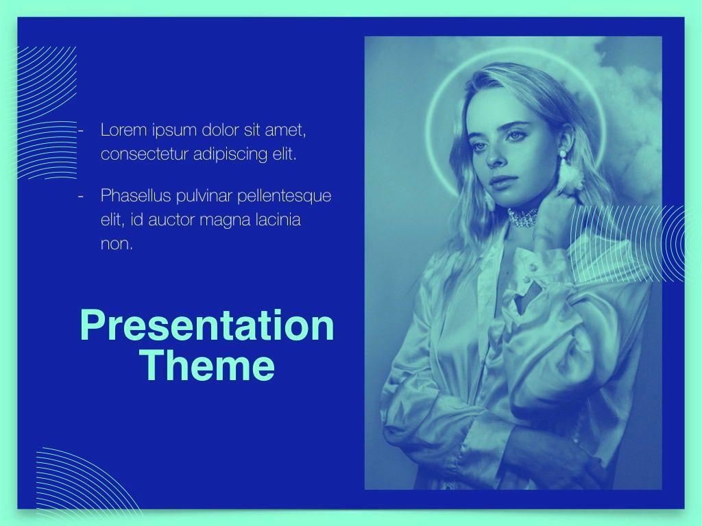 Duotones Keynote Theme, Slide 19, 05144, Presentation Templates — PoweredTemplate.com
