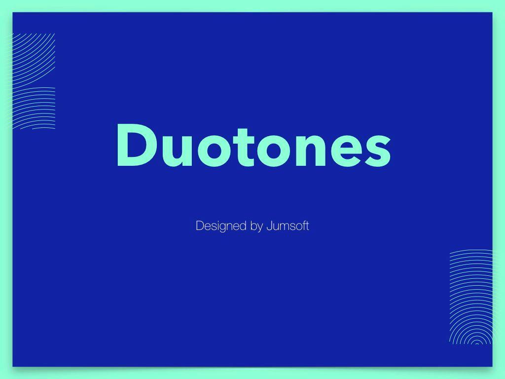Duotones Keynote Theme, Slide 2, 05144, Presentation Templates — PoweredTemplate.com