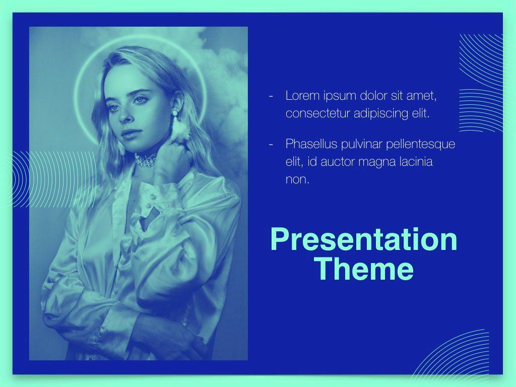 Duotones Keynote Theme, Slide 20, 05144, Presentation Templates — PoweredTemplate.com