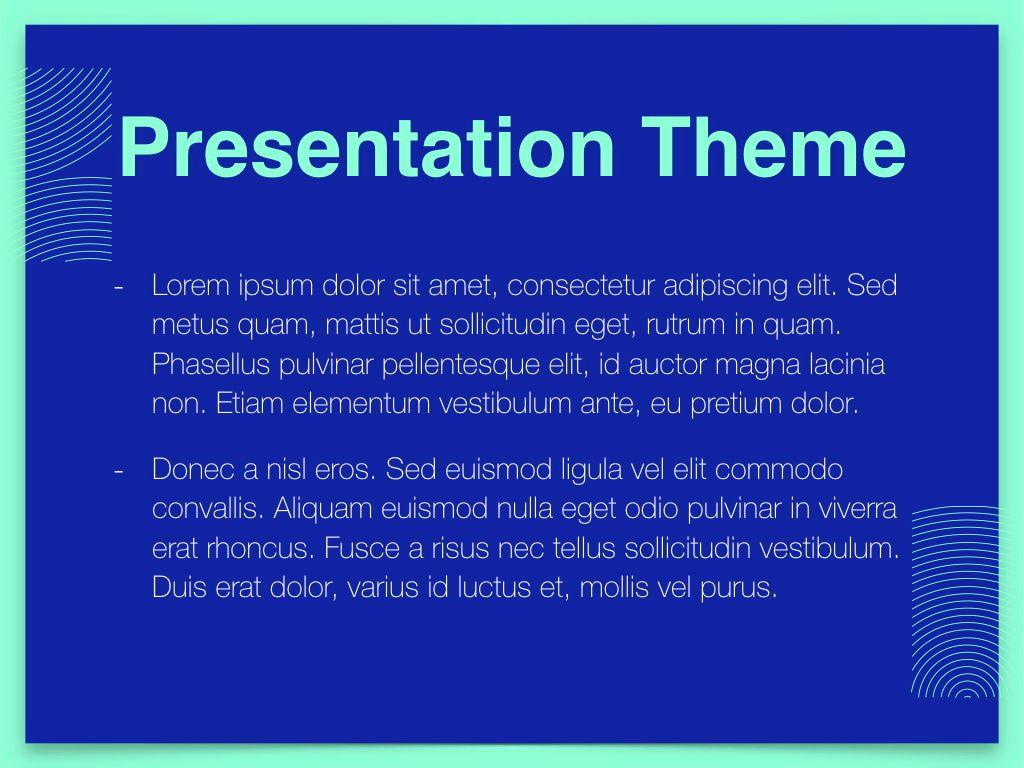 Duotones Keynote Theme, Slide 3, 05144, Presentation Templates — PoweredTemplate.com