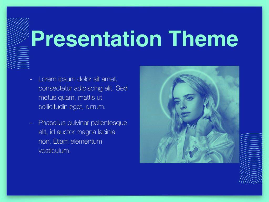 Duotones Keynote Theme, Slide 30, 05144, Presentation Templates — PoweredTemplate.com