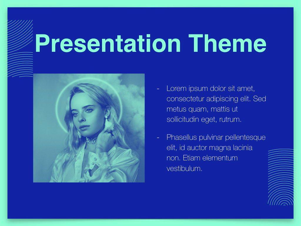 Duotones Keynote Theme, Slide 31, 05144, Presentation Templates — PoweredTemplate.com
