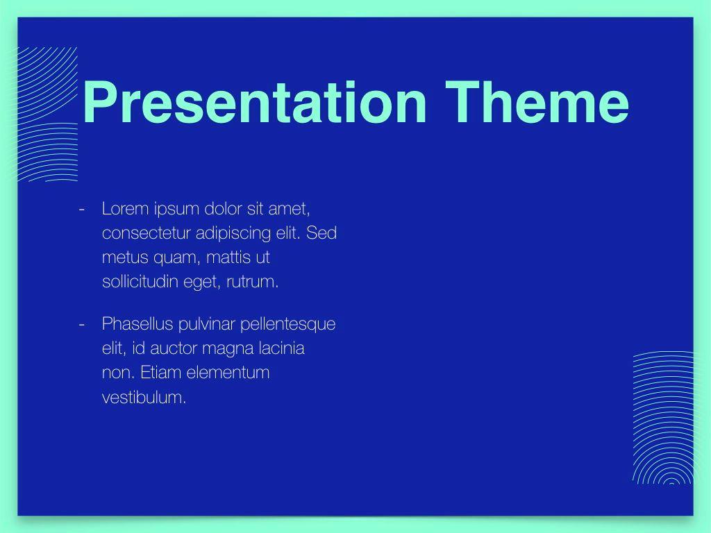 Duotones Keynote Theme, Slide 32, 05144, Presentation Templates — PoweredTemplate.com