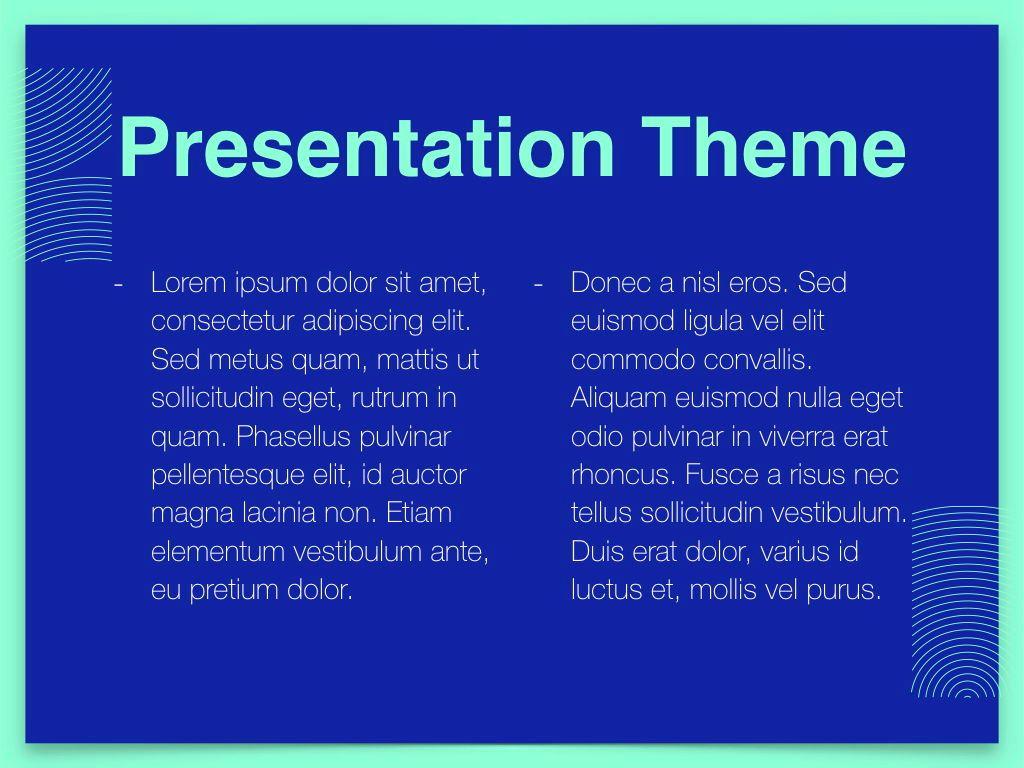 Duotones Keynote Theme, Slide 4, 05144, Presentation Templates — PoweredTemplate.com