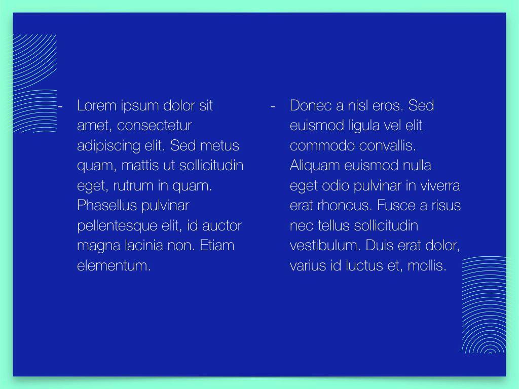 Duotones Keynote Theme, Slide 6, 05144, Presentation Templates — PoweredTemplate.com