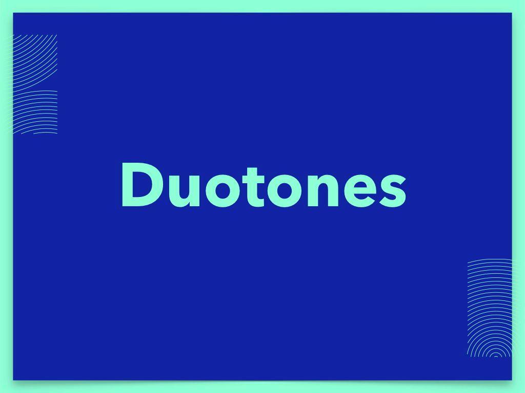 Duotones Keynote Theme, Slide 9, 05144, Presentation Templates — PoweredTemplate.com