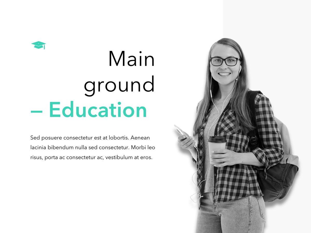 Need Education PowerPoint Template, Slide 2, 05145, Presentation Templates — PoweredTemplate.com