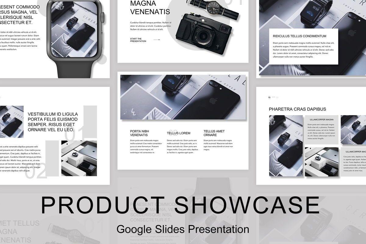 Product Showcase Google Slides Template, 05146, Presentation Templates — PoweredTemplate.com