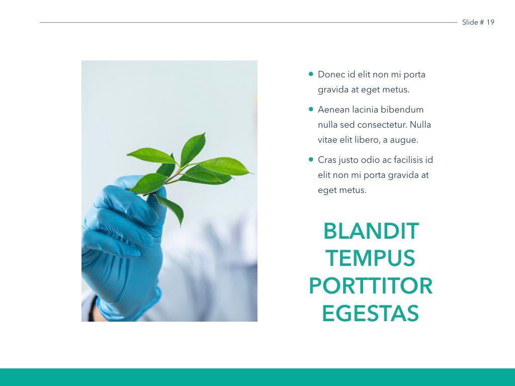 Scientific Report Keynote Theme, Slide 20, 05147, Presentation Templates — PoweredTemplate.com