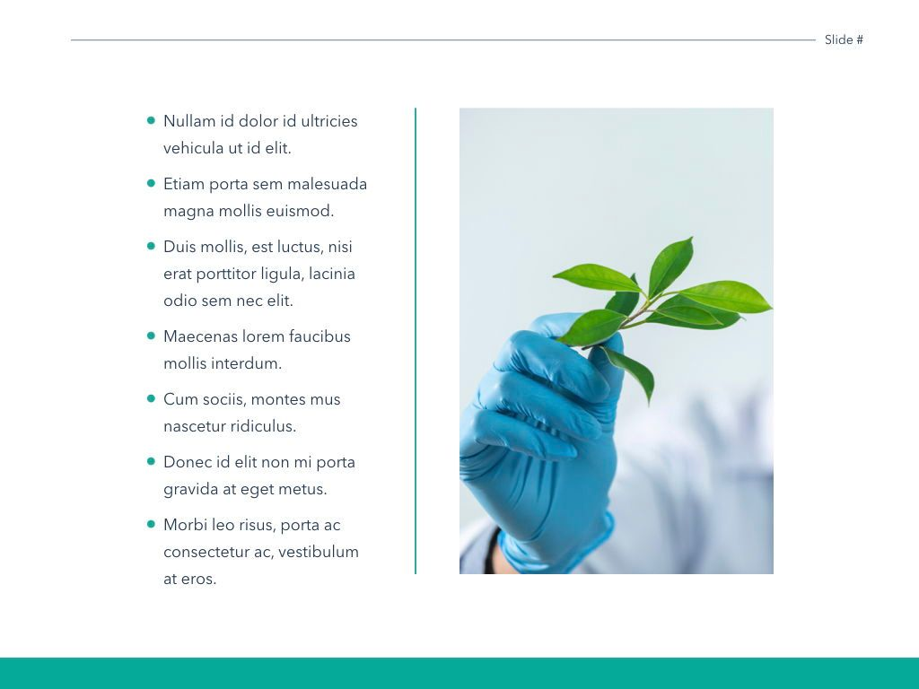 Scientific Report Keynote Theme, Slide 21, 05147, Presentation Templates — PoweredTemplate.com