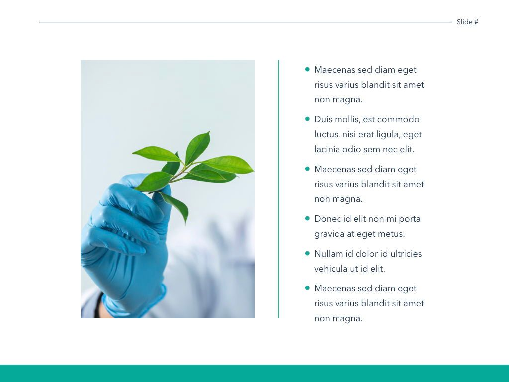 Scientific Report Keynote Theme, Slide 22, 05147, Presentation Templates — PoweredTemplate.com