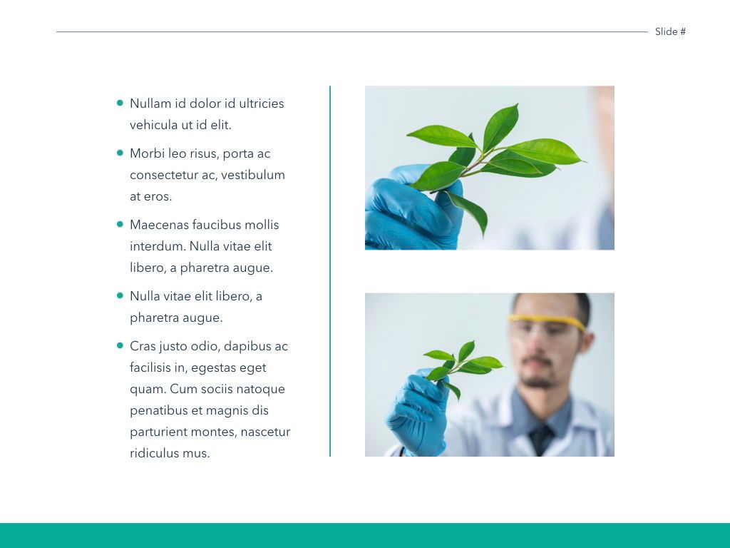 Scientific Report Keynote Theme, Slide 23, 05147, Presentation Templates — PoweredTemplate.com