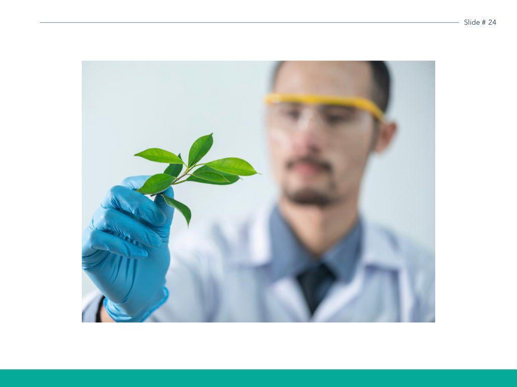 Scientific Report Keynote Theme, Slide 25, 05147, Presentation Templates — PoweredTemplate.com