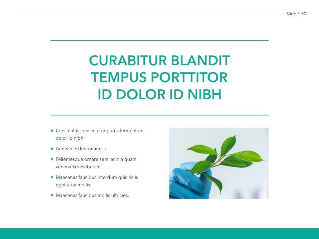 Scientific Report Keynote Theme, Slide 31, 05147, Presentation Templates — PoweredTemplate.com