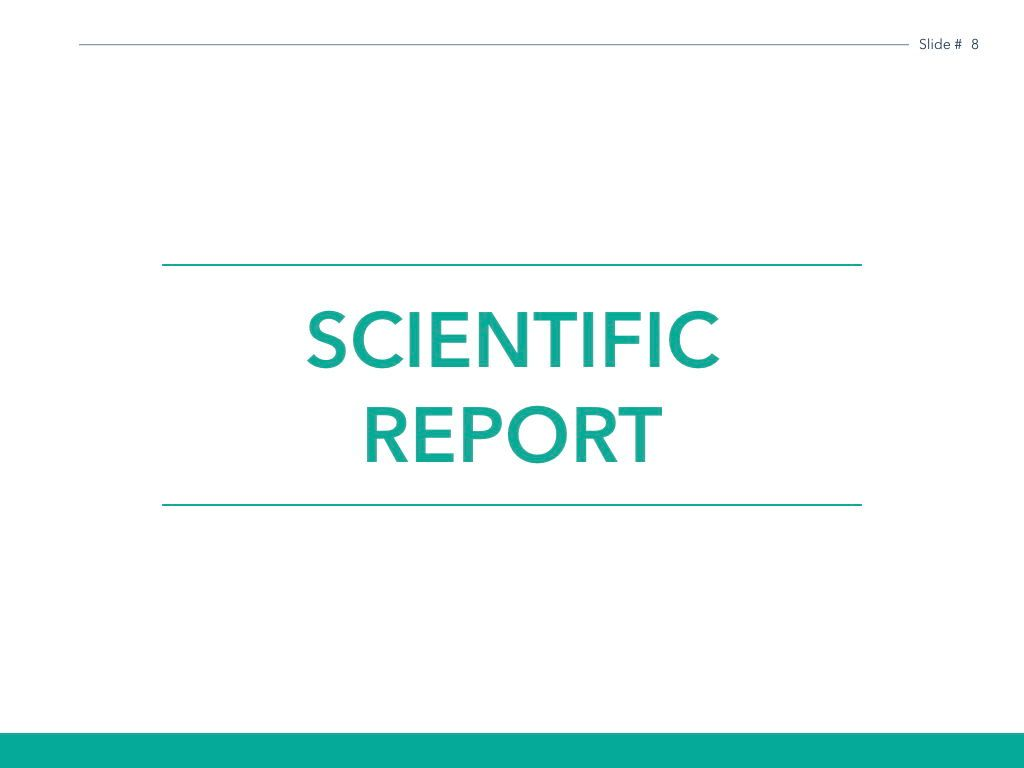 Scientific Report Keynote Theme, Slide 9, 05147, Presentation Templates — PoweredTemplate.com