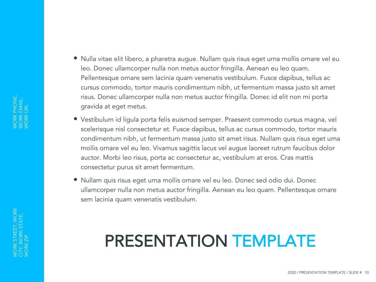 Logistics Google Slides Theme, Slide 11, 05149, Presentation Templates — PoweredTemplate.com