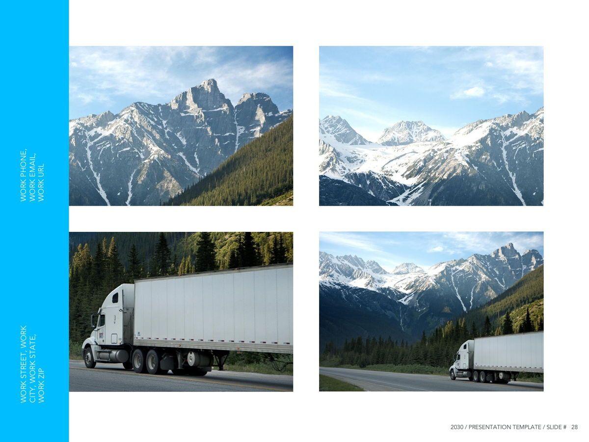 Logistics Google Slides Theme, Slide 29, 05149, Presentation Templates — PoweredTemplate.com