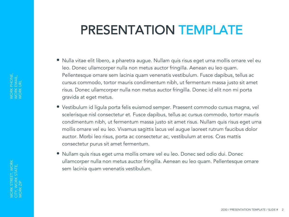 Logistics Google Slides Theme, Slide 3, 05149, Presentation Templates — PoweredTemplate.com
