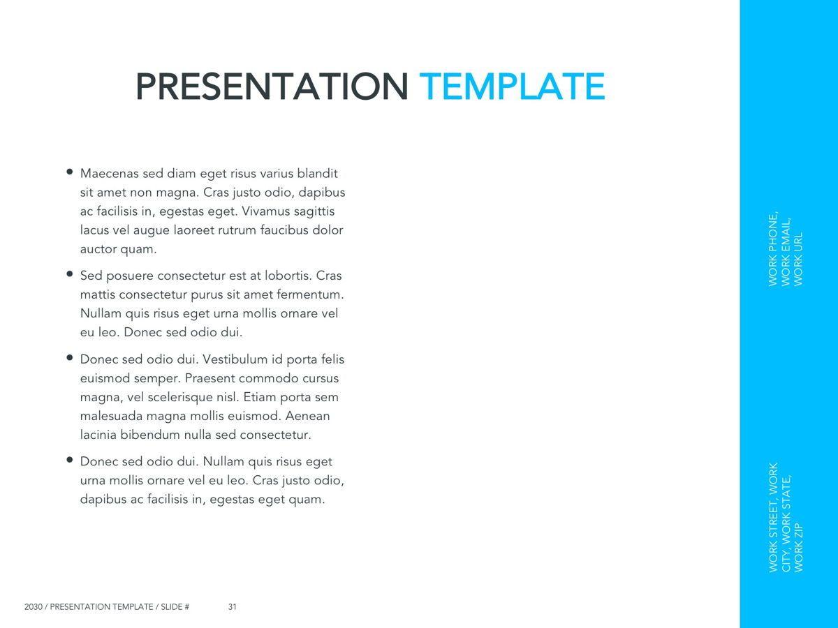 Logistics Google Slides Theme, Slide 32, 05149, Presentation Templates — PoweredTemplate.com