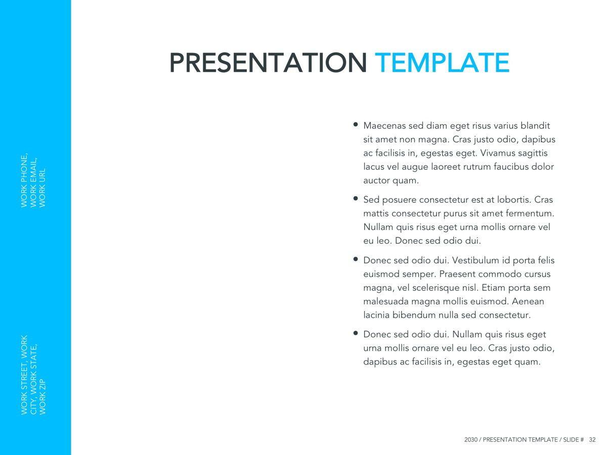 Logistics Google Slides Theme, Slide 33, 05149, Presentation Templates — PoweredTemplate.com