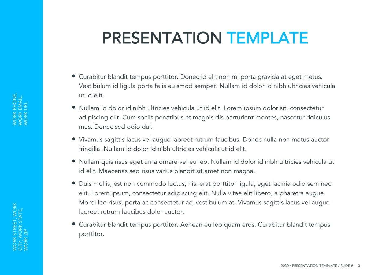 Logistics Google Slides Theme, Slide 4, 05149, Presentation Templates — PoweredTemplate.com