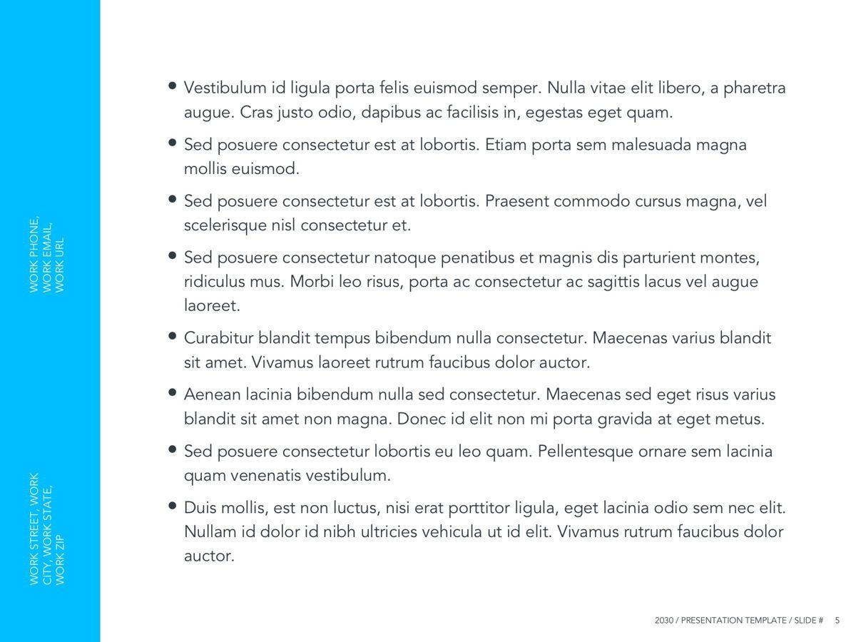 Logistics Google Slides Theme, Slide 6, 05149, Presentation Templates — PoweredTemplate.com
