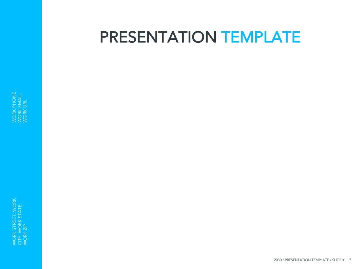 Logistics Google Slides Theme, Slide 8, 05149, Presentation Templates — PoweredTemplate.com