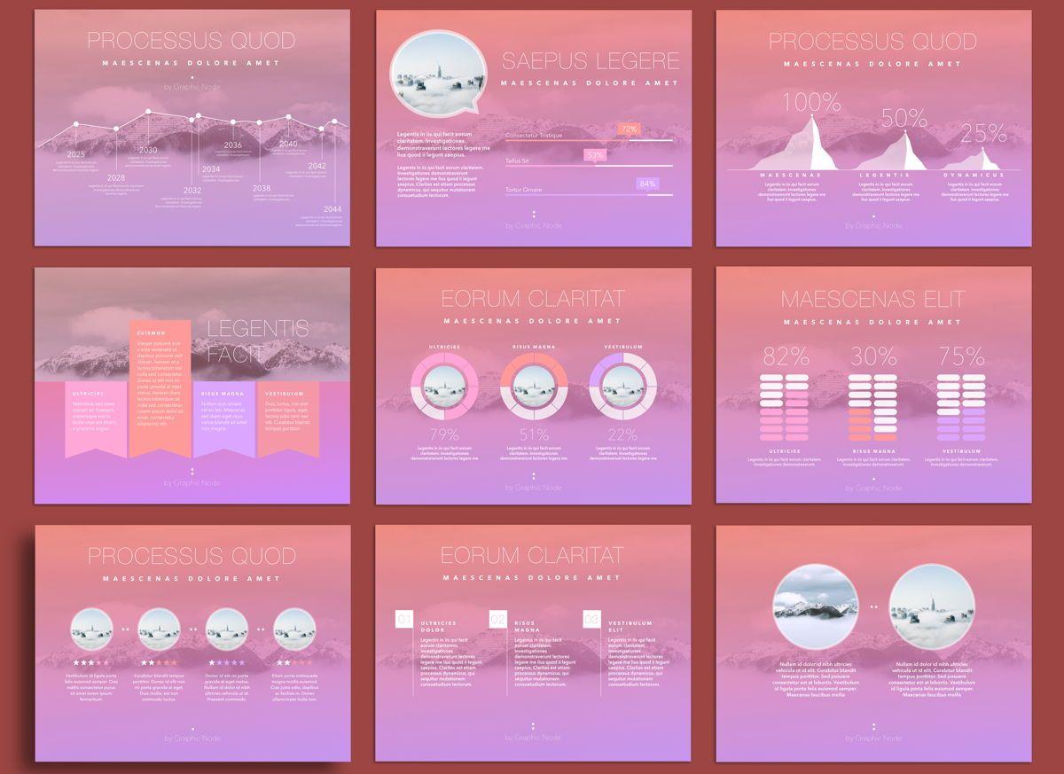 Be Trendy Google Slides Presentation Template, Slide 3, 05151, Presentation Templates — PoweredTemplate.com