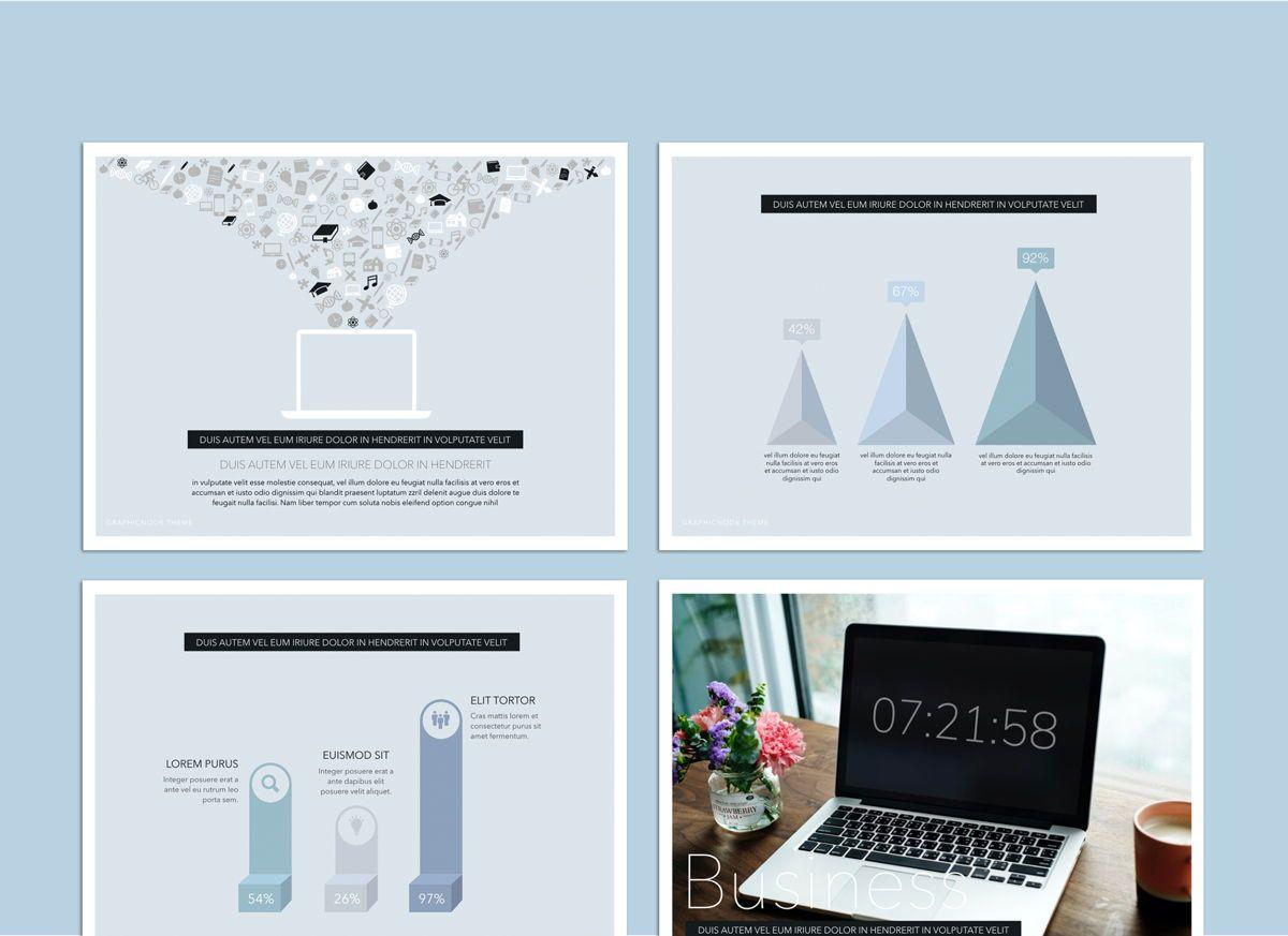 Big Bold Google Slides Presentation Template, Slide 3, 05152, Presentation Templates — PoweredTemplate.com