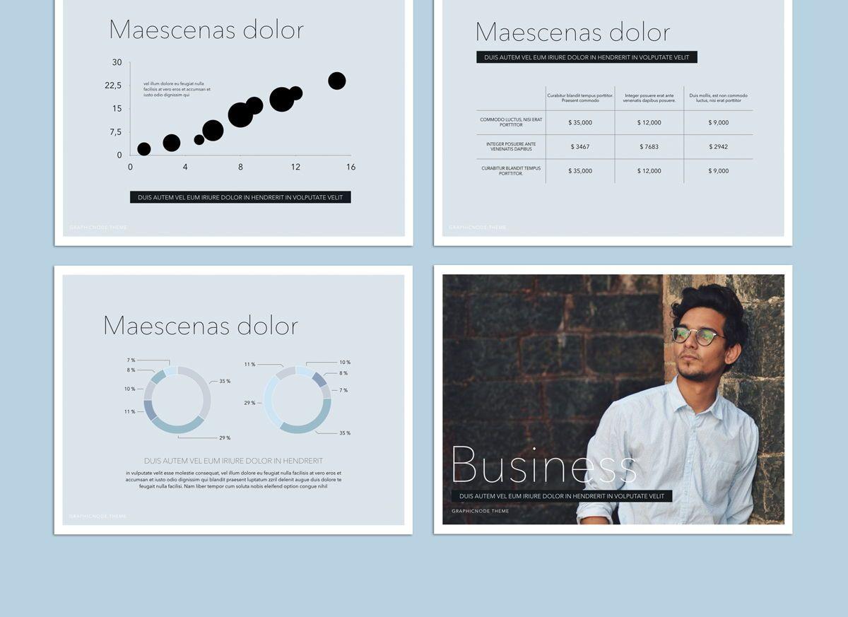 Big Bold Google Slides Presentation Template, Slide 4, 05152, Presentation Templates — PoweredTemplate.com