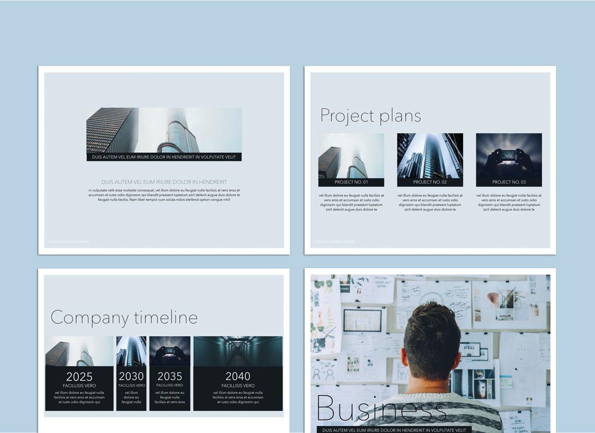 Big Bold Google Slides Presentation Template, Slide 5, 05152, Presentation Templates — PoweredTemplate.com