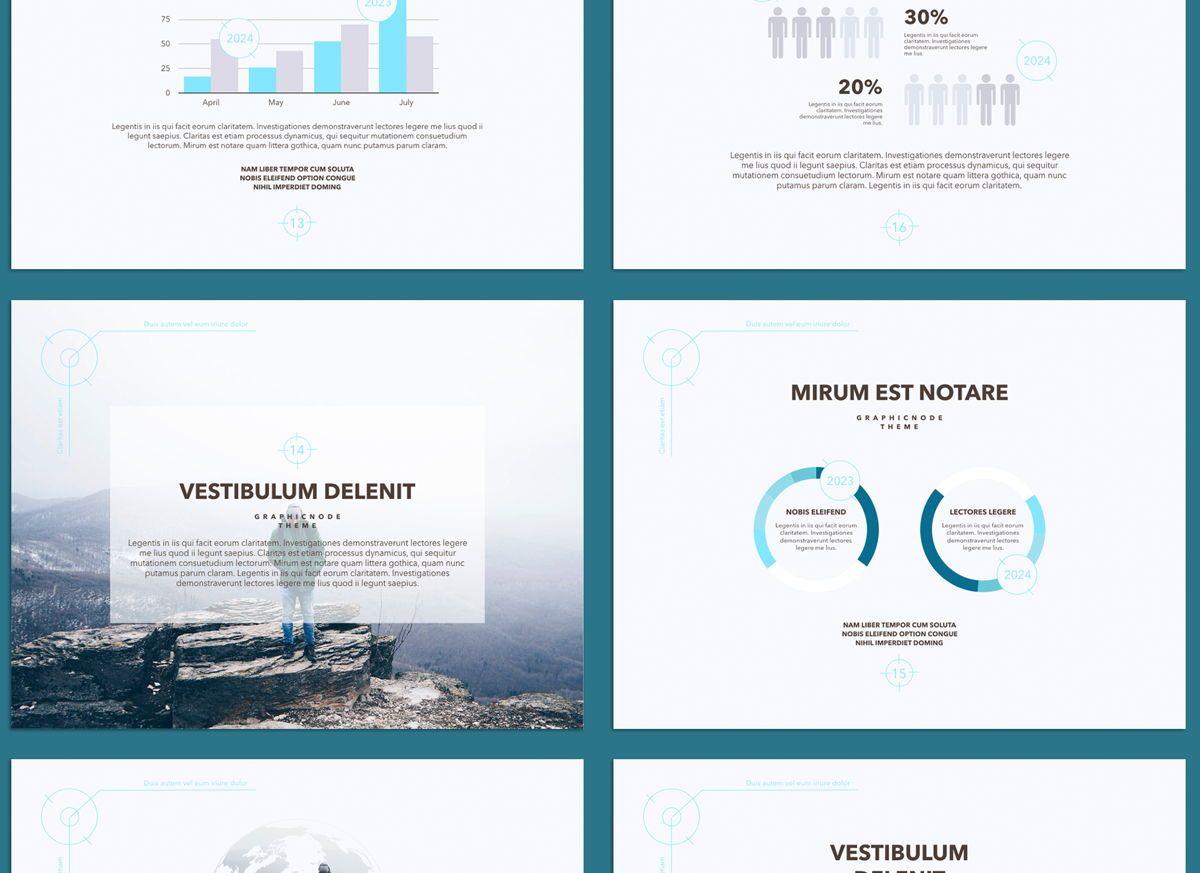 Blue Chip 02 Google Slides Presentation Template, Slide 3, 05153, Presentation Templates — PoweredTemplate.com