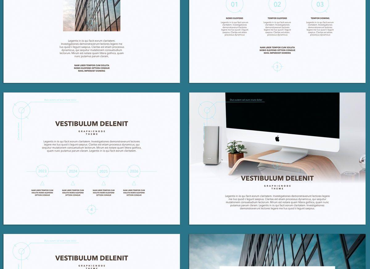 Blue Chip 02 Google Slides Presentation Template, Slide 5, 05153, Presentation Templates — PoweredTemplate.com