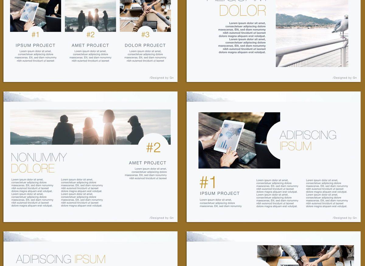 Bold Statement Google Slides Presentation Template, Slide 3, 05154, Presentation Templates — PoweredTemplate.com