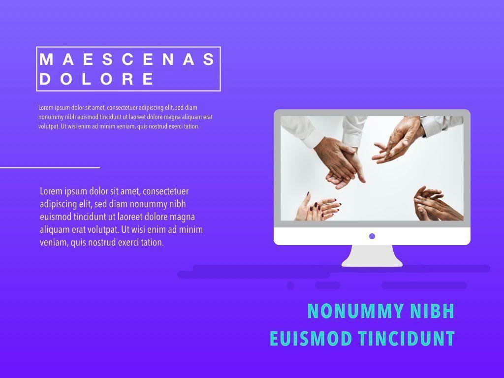 Bright Idea Google Slides Presentation Template, Slide 2, 05155, Presentation Templates — PoweredTemplate.com