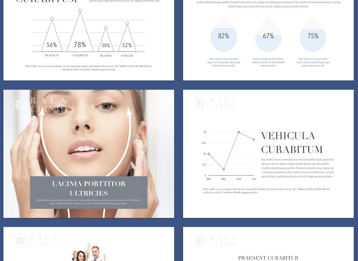 Clinical Google Slides Presentation Template, Slide 4, 05158, Presentation Templates — PoweredTemplate.com