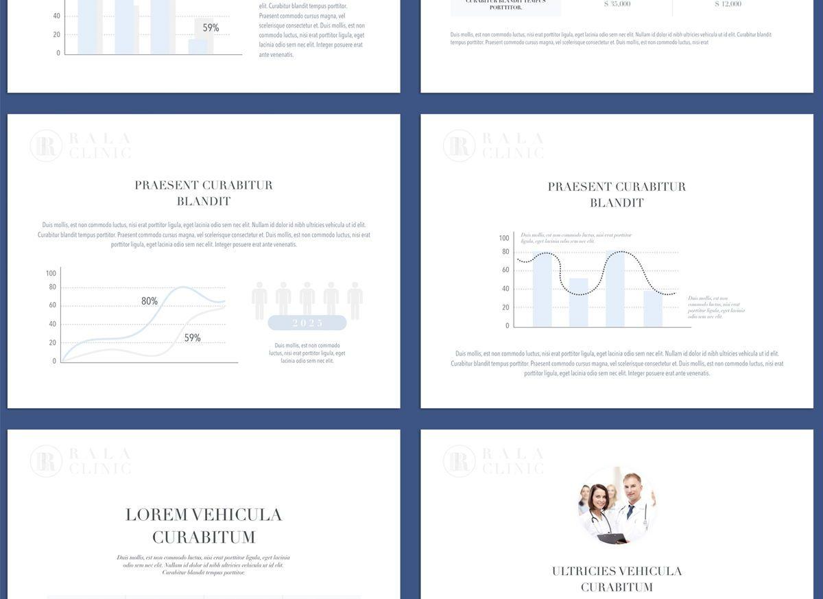 Clinical Google Slides Presentation Template, Slide 7, 05158, Presentation Templates — PoweredTemplate.com