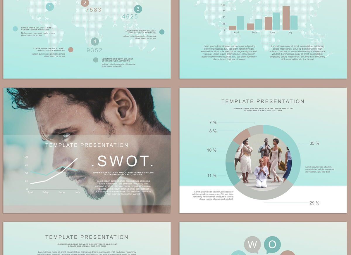 Concentrated Google Slides Presentation Template, Slide 5, 05159, Presentation Templates — PoweredTemplate.com