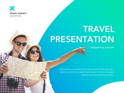 Presentation Templates: Travel Agency PowerPoint Template #05162