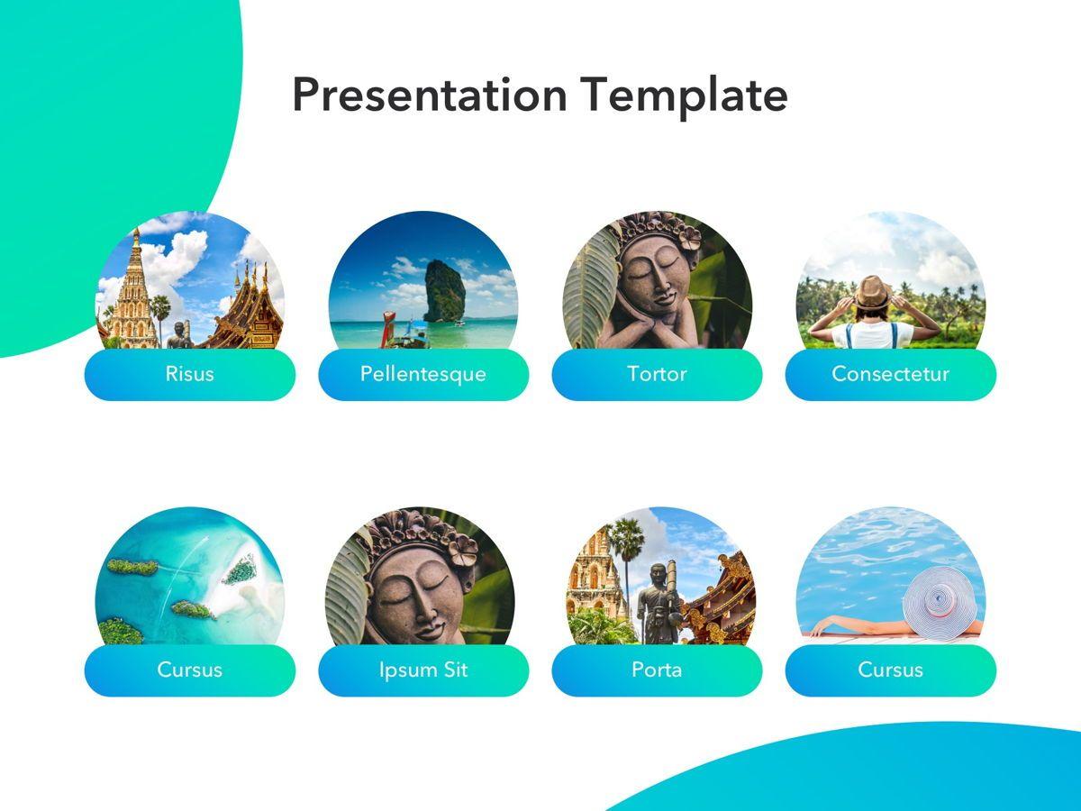 Travel Agency PowerPoint Template, Slide 11, 05162, Presentation Templates — PoweredTemplate.com