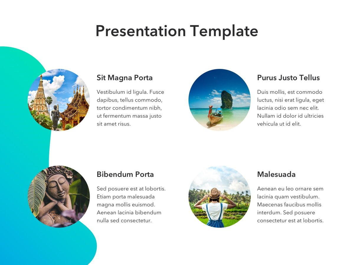 Travel Agency PowerPoint Template, Slide 12, 05162, Presentation Templates — PoweredTemplate.com