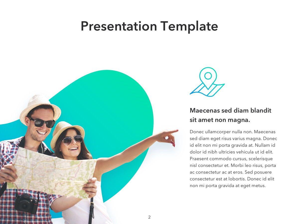 Travel Agency PowerPoint Template, Slide 2, 05162, Presentation Templates — PoweredTemplate.com